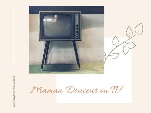 Maman Douceur au journal de TF1