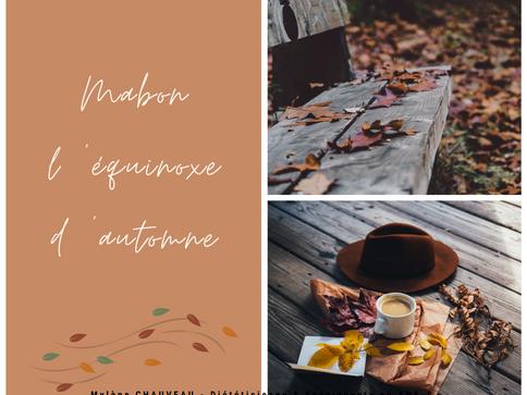 Mabon, l'équinoxe d'automne