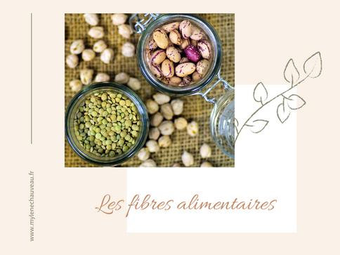 L'importance des fibres dans l'alimentation