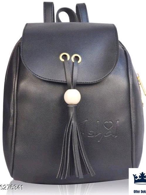Stylish Trendy PU Leather Backpack
