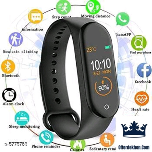 Bluetooth Smart Fitness Band Watches Vol 14