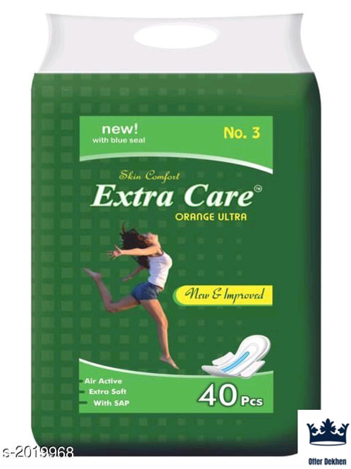 Extra Care Comfy Sanitary Napkins Vol 2