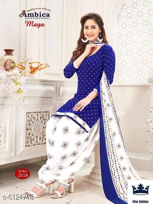 Free Mask Alisha Superior Salwar Suits & Dress Materials