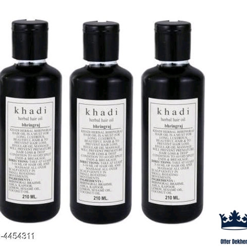 Hair Khadi Herbal Hair Oil Vol 6