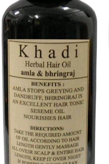 Khadi Amla & Bhringraj Hair oil ( Pack of 1 )