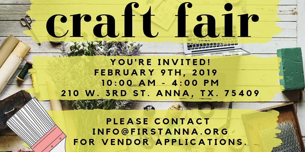 First Anna Craft Fair