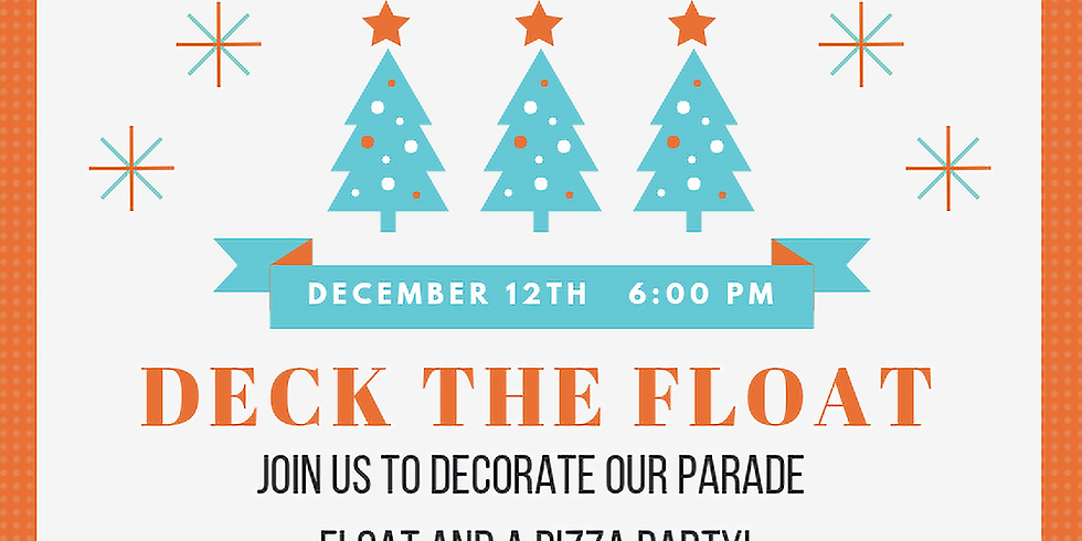 CANCELED: Deck the Float!