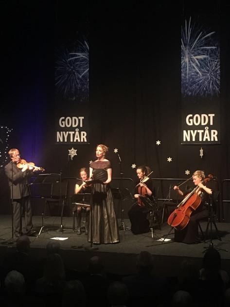 Nytårskoncert med Kim Sjøgren og The Mermaids, januar 2017
