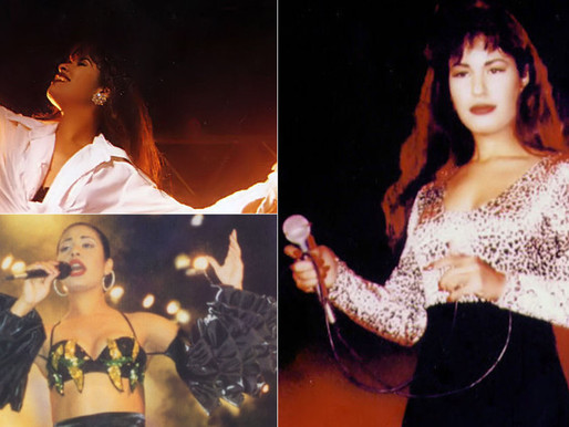 Selena - one of the first Tejano music stars to go mainstream