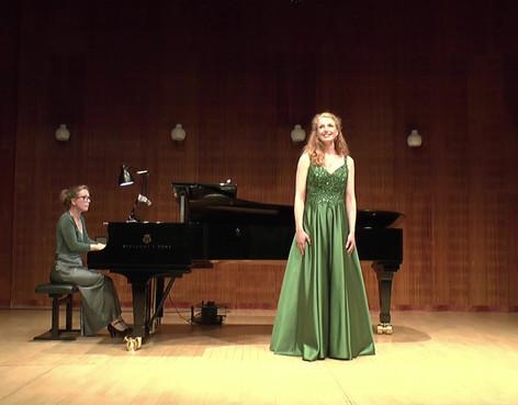 Kandidateksamen, pianist Berit Johansen Tange