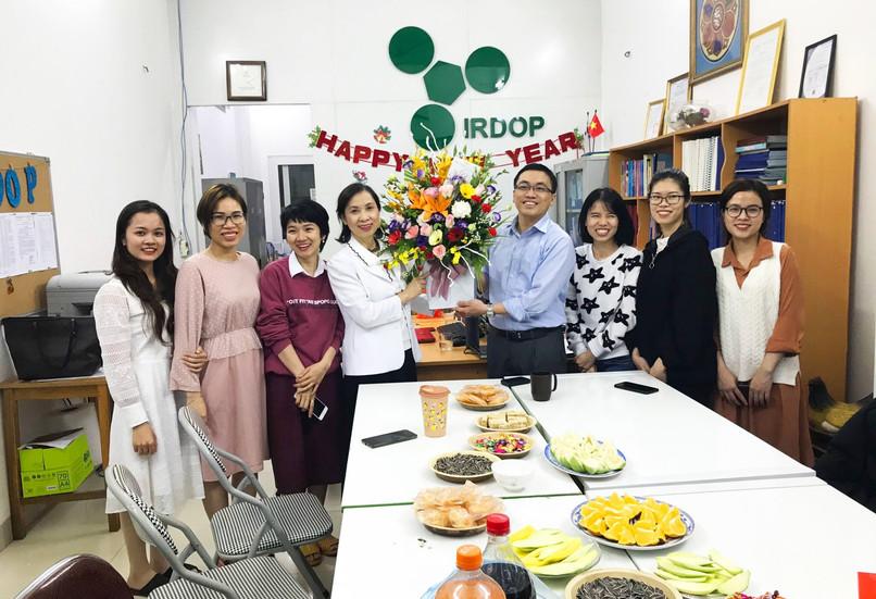 Lễ kỷ niệm Ngày Quốc tế Phụ nữ 8-3 tại Viện nghiên cứu và phát triển sản phẩm thiên nhiên (IRDOP)