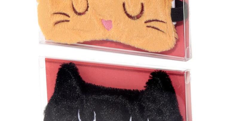 Maschera per Occhi - Gatto Feline Fine