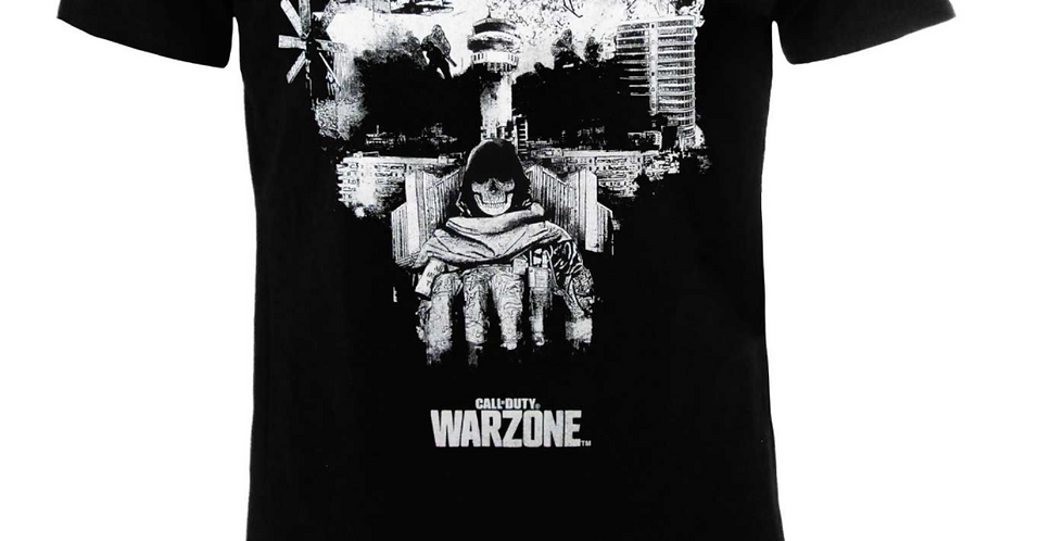 T-shirt Call of Duty WZ Teschio