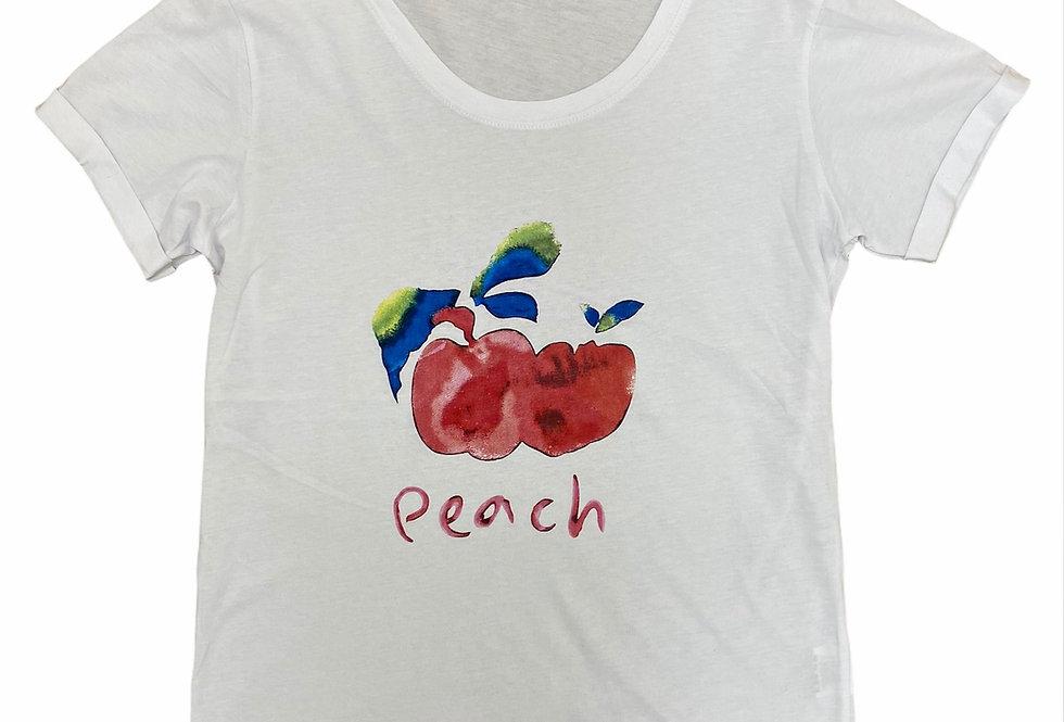 T-shirt peach