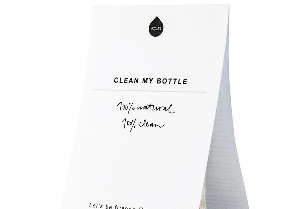 Set di pulizia per bottiglie d'acqua