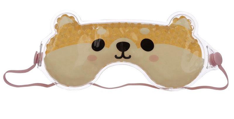 Maschera per Occhi con Gel - Cane Shiba Inu - Animali Dolci