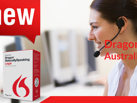 Dragon NaturallySpeaking Legal – Australian edition released today