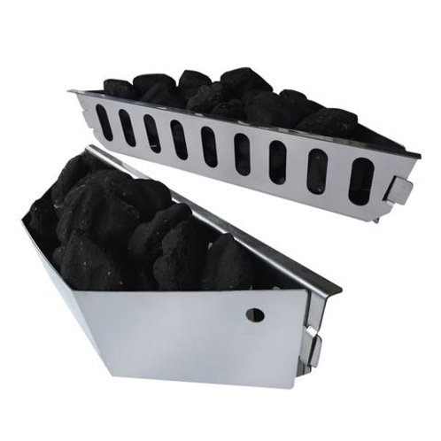 Stainless Steel Charcoal Basket - Set of 2