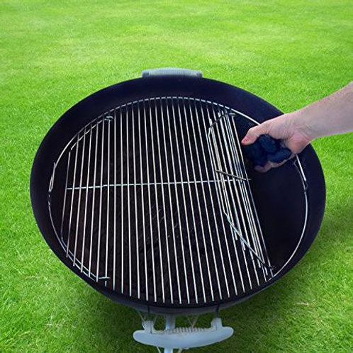"Hinged Stainless Steel Grate for 22"" Kettle Grill"