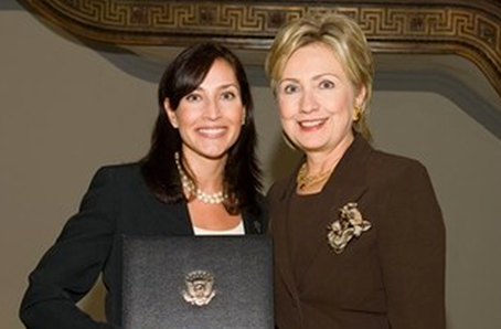 Senator Clinton Honors Garden City Angel in Adoption Addresses Angels in Adoption Gala