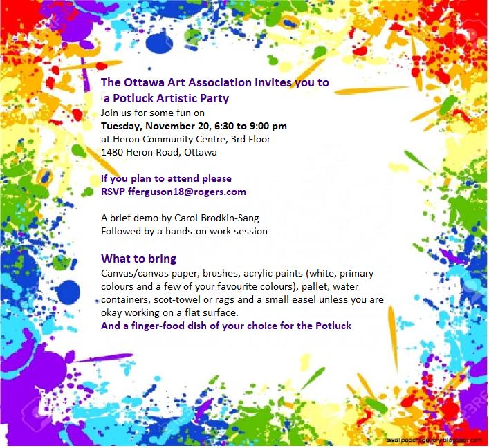 OAA Art Party