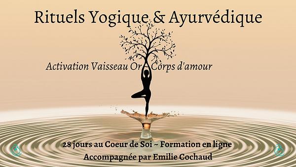 Activation du Vaisseau Or _ Corps d'amou