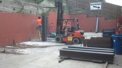 Installing Retaining Wall Shoring