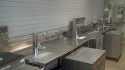 Draft beer system installation