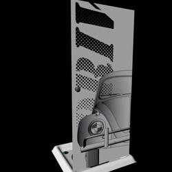 driving shower box door