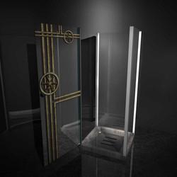urban shower box door
