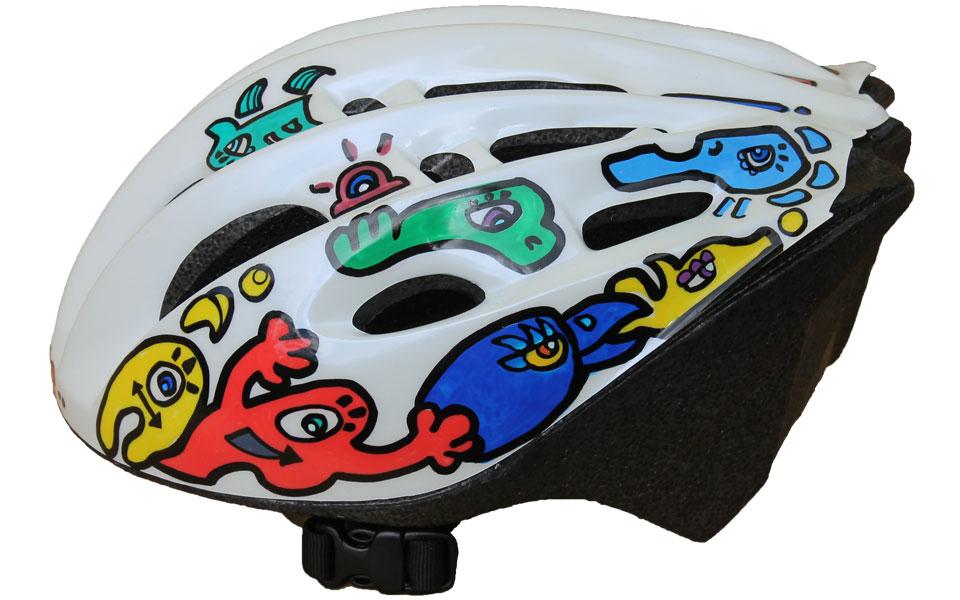 Racing bycicle Helmet