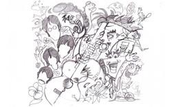 Murale original sketch
