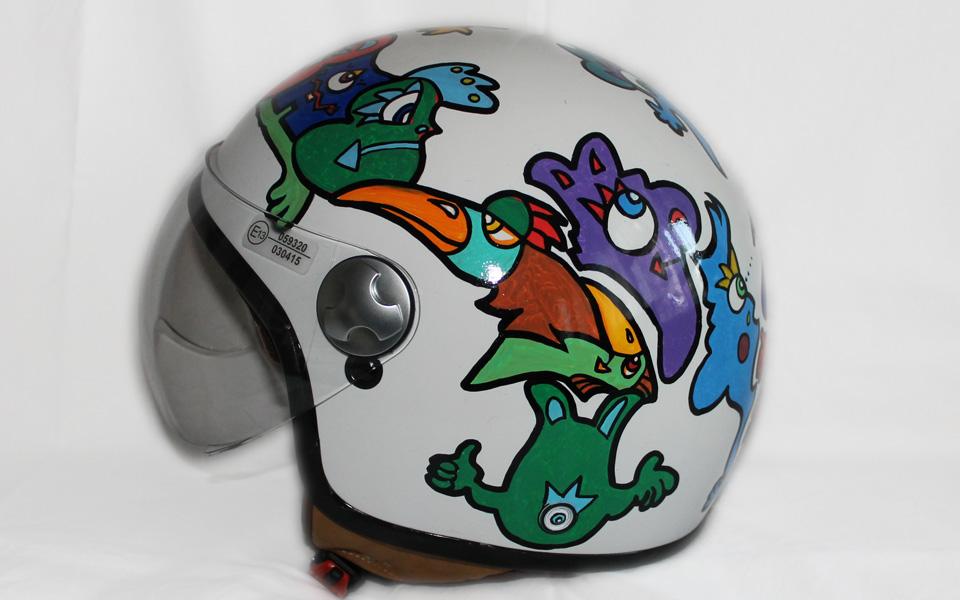 Jet Bike Helmet