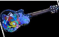 Ovation style Guitar