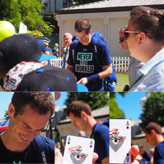 StarCards supporter Andy Murray