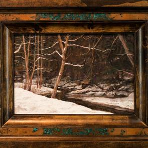 Flat Creek A Winters Moment