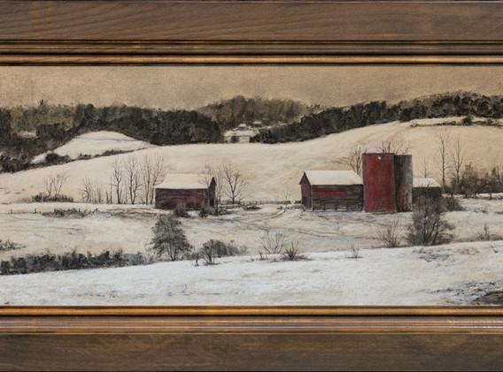 Aging Farm in Winter