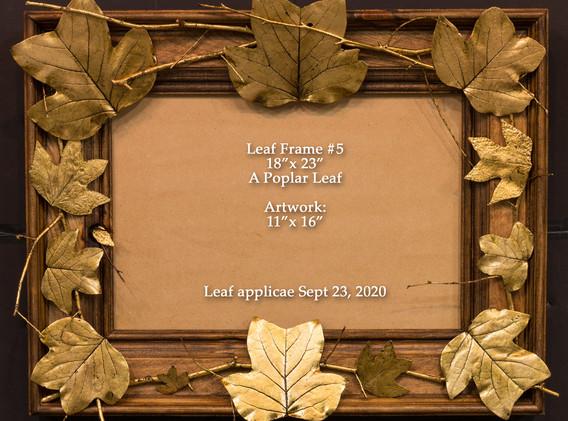 Leaf Frame_5 Poplar