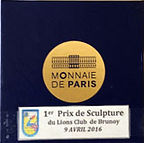 1er Prix de sculpture du Lions Club de Brunoy 2016
