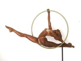 Gymnaste au cerceau