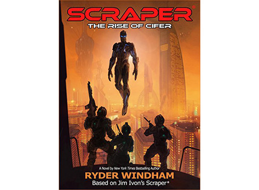 SCRAPER Novel Coming soon!