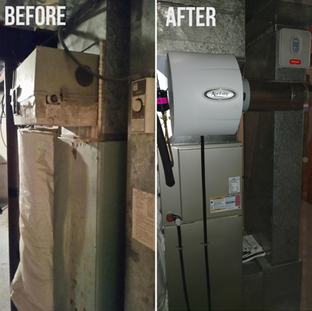 Aprilaire Humidifier Installation