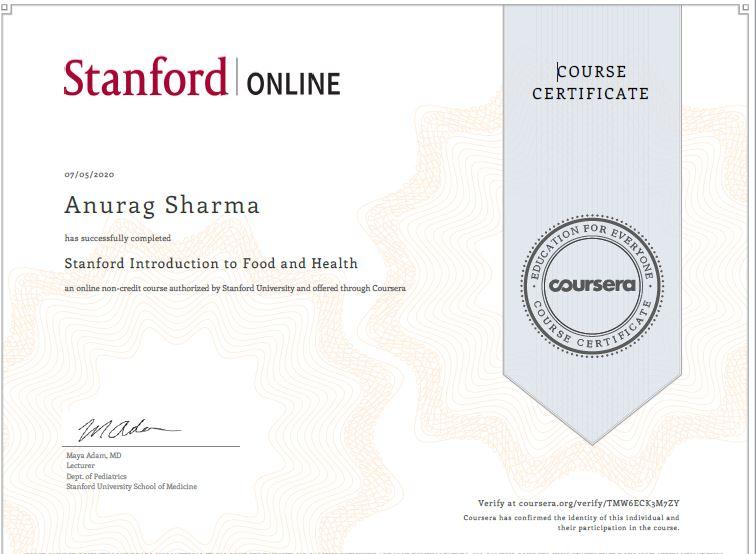Stanford Nutrition Certificate.JPG