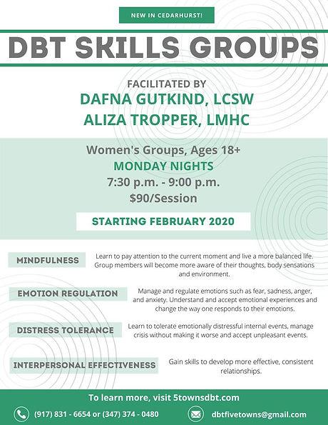Five Towns Dbt group flyer