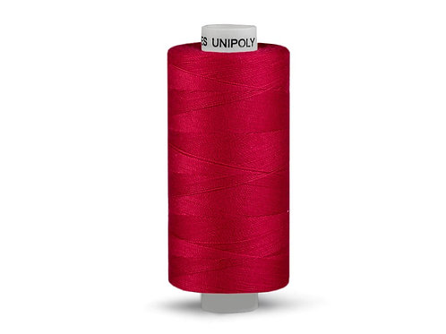 Nähgarn aus Polyester Unipoly Wickel 500 m dunkles rot