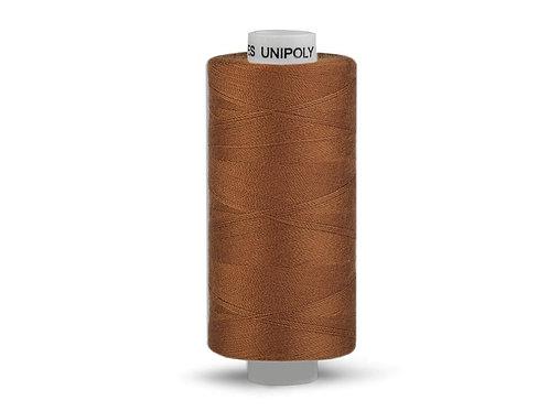 Nähgarn aus Polyester Unipoly Wickel 500 m Rehbraun