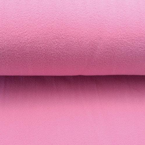 Polarfleece uni Rosa-Pink