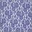 Thumbnail: Mesh Spitze mit Blumen blauviolett