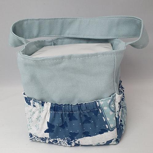Musikbox Tasche Maritim Vintage Blue