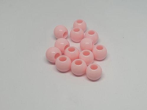 Acryl Perlen  Uni Rosa